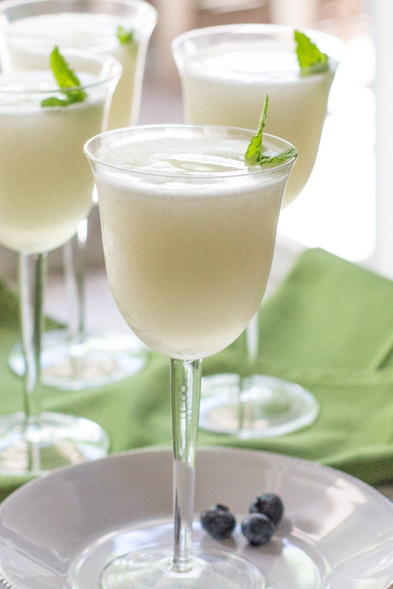 Sgroppino (an Italian Dessert Cocktail) is part of Italian dessert Lemon - Sgroppino, a frothy Italian dessert sorbetto cocktail, made with lemon sorbet, Prosecco, and vodka