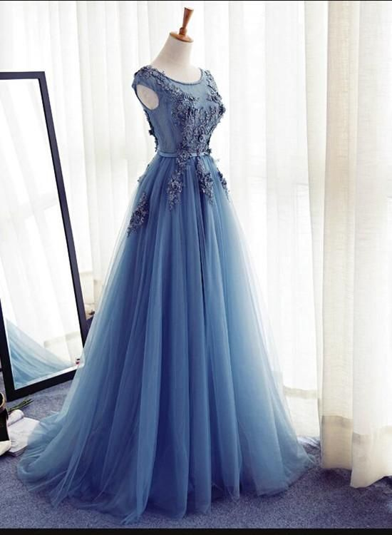 Charming Tulle Gown, Prom Gown, Junior Prom Dress 2018, Party ...