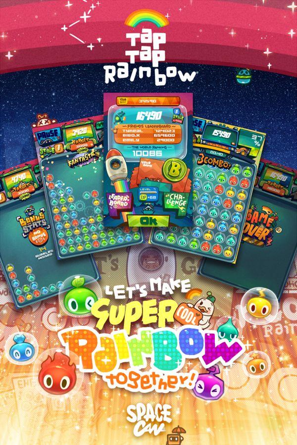 app workTAP TAP RAINBOW by bibo X, via Behance App