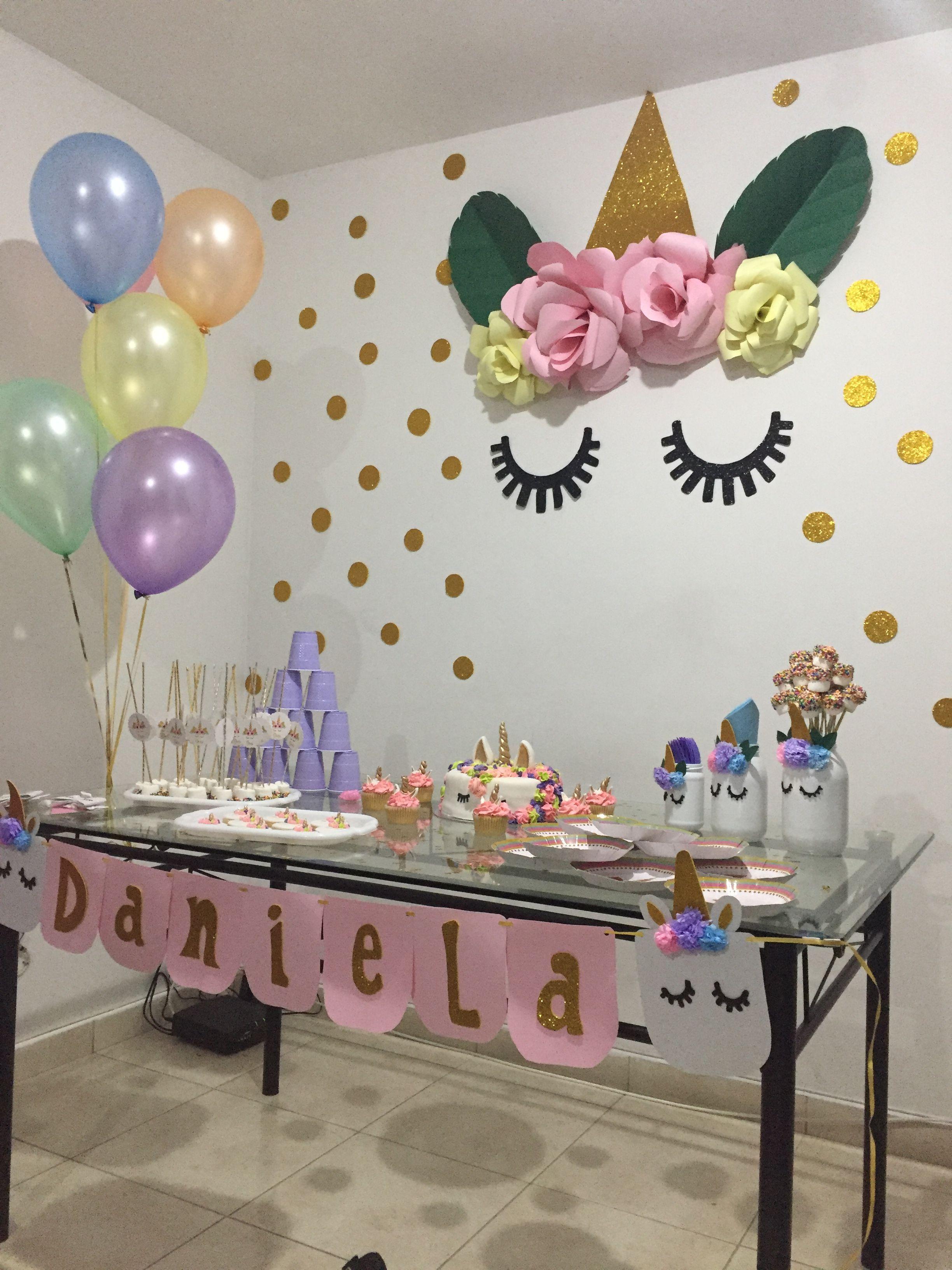 Unicornio unicornio en 2019 fiesta de unicornios - Cosas para decorar una fiesta ...