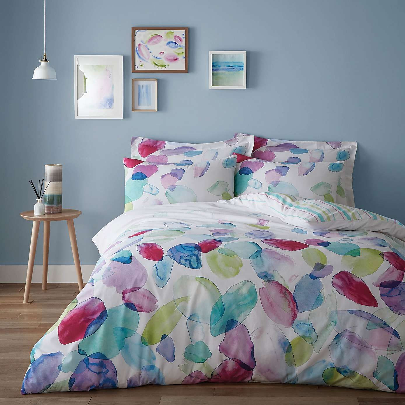 Mila Bed Linen Collection Dunelm With Images Bed Linens