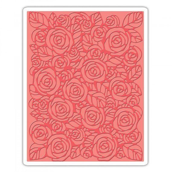Sizzix Texture Fades Embossing Folder Flourish by Tim Holtz