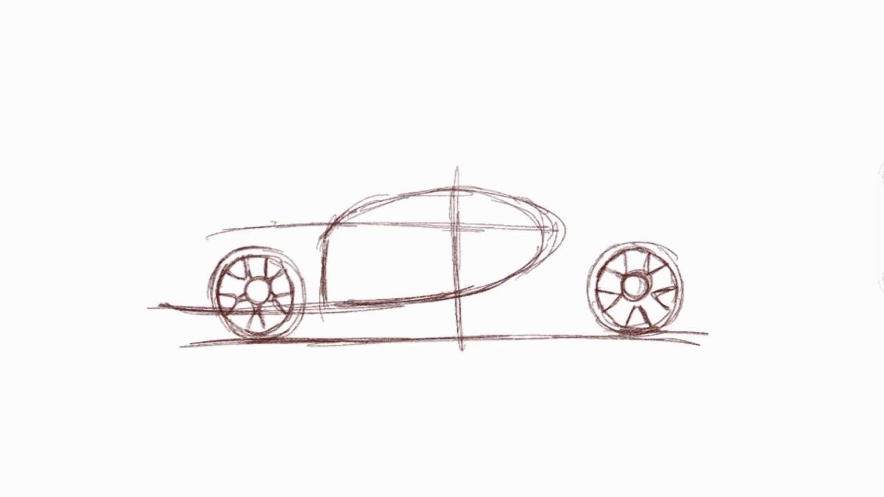 Sport Car Drawing How To Draw Sport Car Car Sketching How To