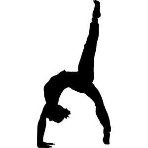 gymnastics clip art black and white gymnast clipart image female rh pinterest ca gymnastic clip art free gymnast clip art free