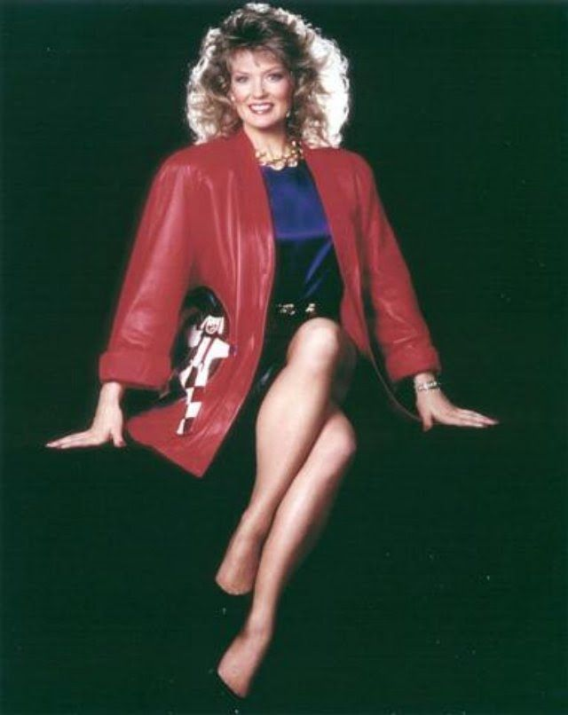 Mary Hart Legs in an Old Photo
