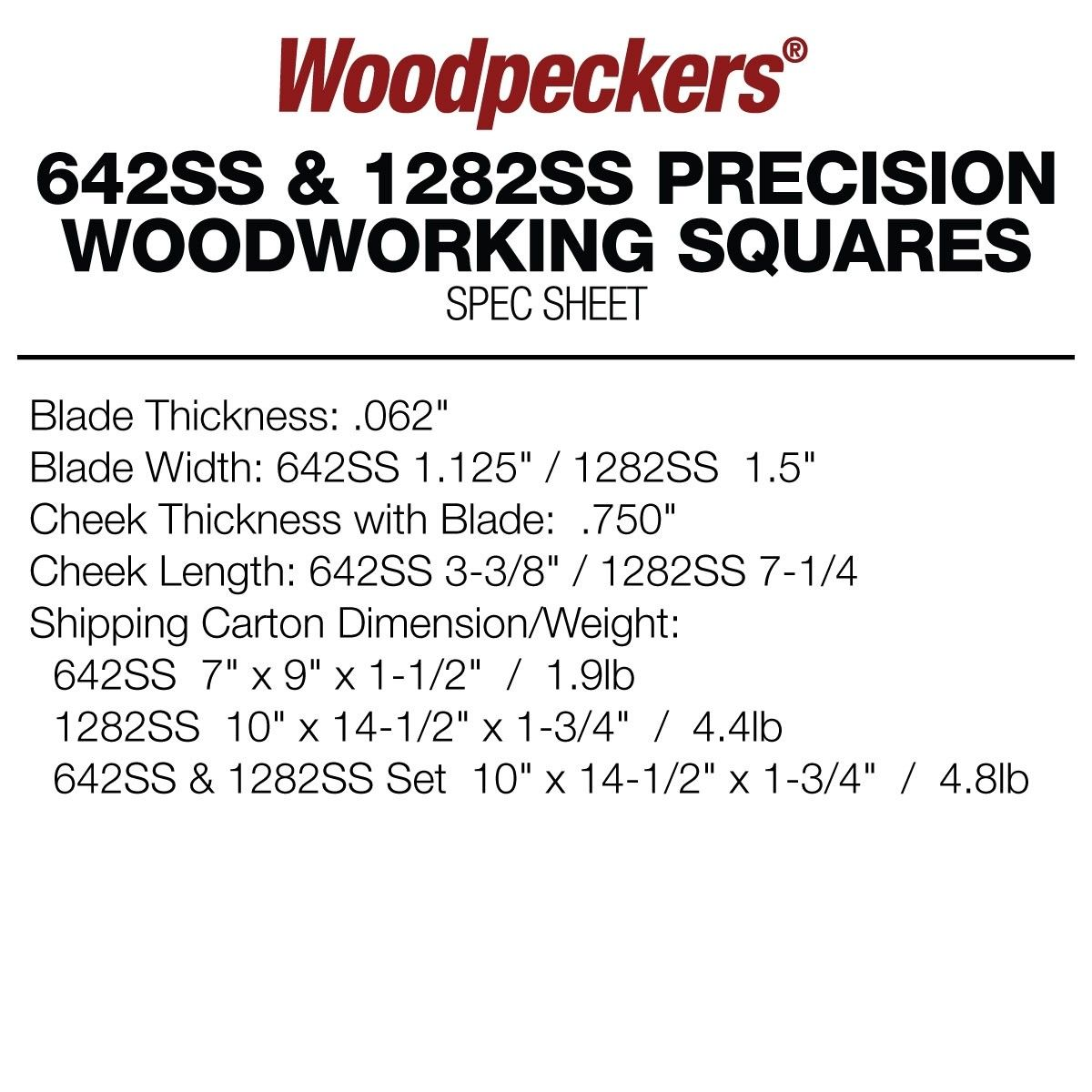 Woodpeckers Stainless Steel Squares With Images Woodworking Square Stainless Steel Plate Steel Design