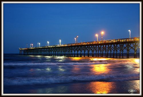 Surf city pier topsail island surf city nc for Surf city fishing pier