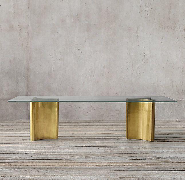 Dalton Rectangular Dining Table Gl