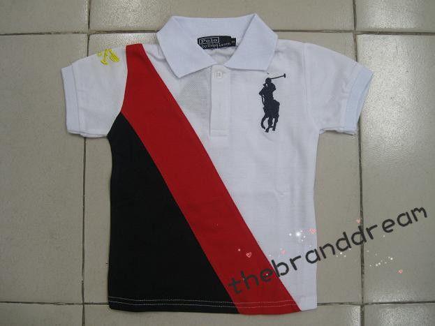 Wholesale 3PCS Ralph Lauren Fashion Men's Big Pony Polo