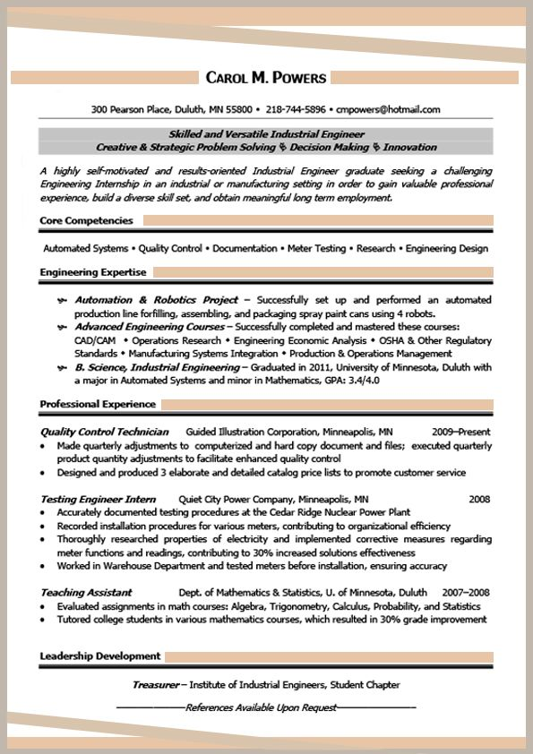Effective Resume FormatsSimple Resume Format Simple Resume Format