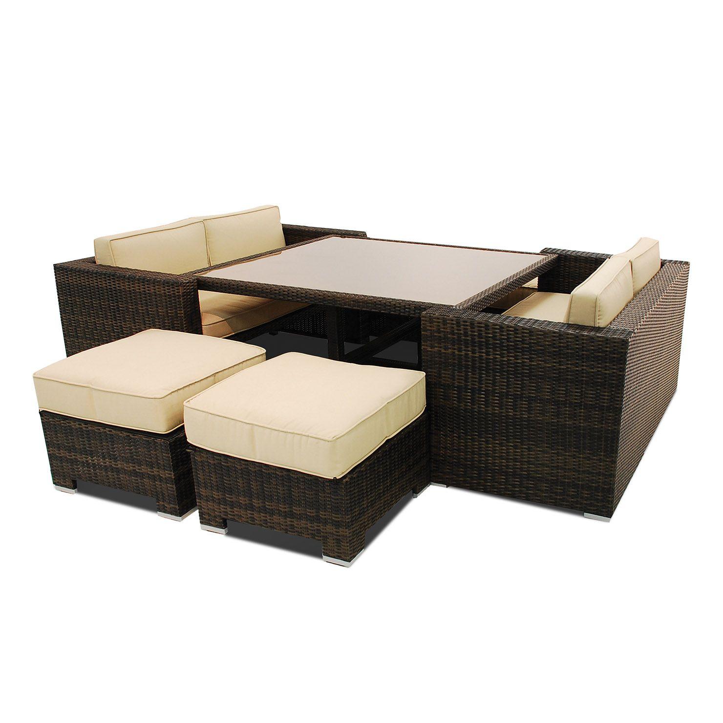c35c257dedf7 Maze Rattan Cube Sofa Set   ACHICA 810   Storage   Outdoor furniture ...