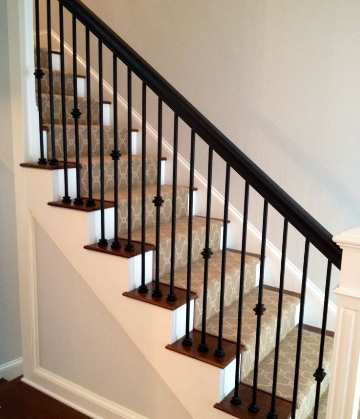Black Staircase Railings The Best Design For Your Home Stair | Wood And Metal Banister | Modern | Rustic | Stainless Steel | Design | Aluminum