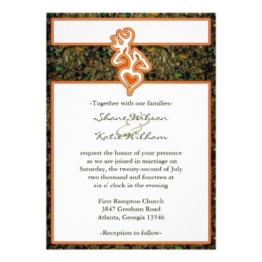 Hunting Camo Wedding Invitation Zazzle Com Hunting Wedding Invitations Camo Wedding Hunting Wedding