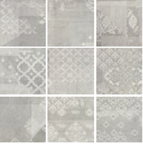 monochrome kueche fliesen patchwork design. Black Bedroom Furniture Sets. Home Design Ideas