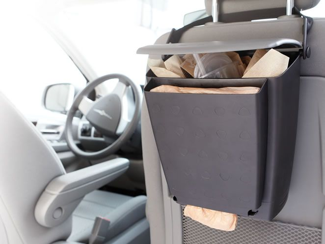 Kitchen Trash Bin Target: Car Organization Products