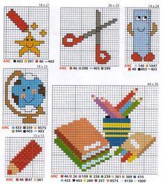 School perler bead patterns