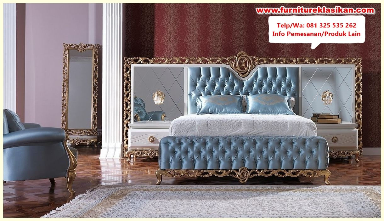 tempat tidur klasik mewah modern | Tempat tidur, Modern ...