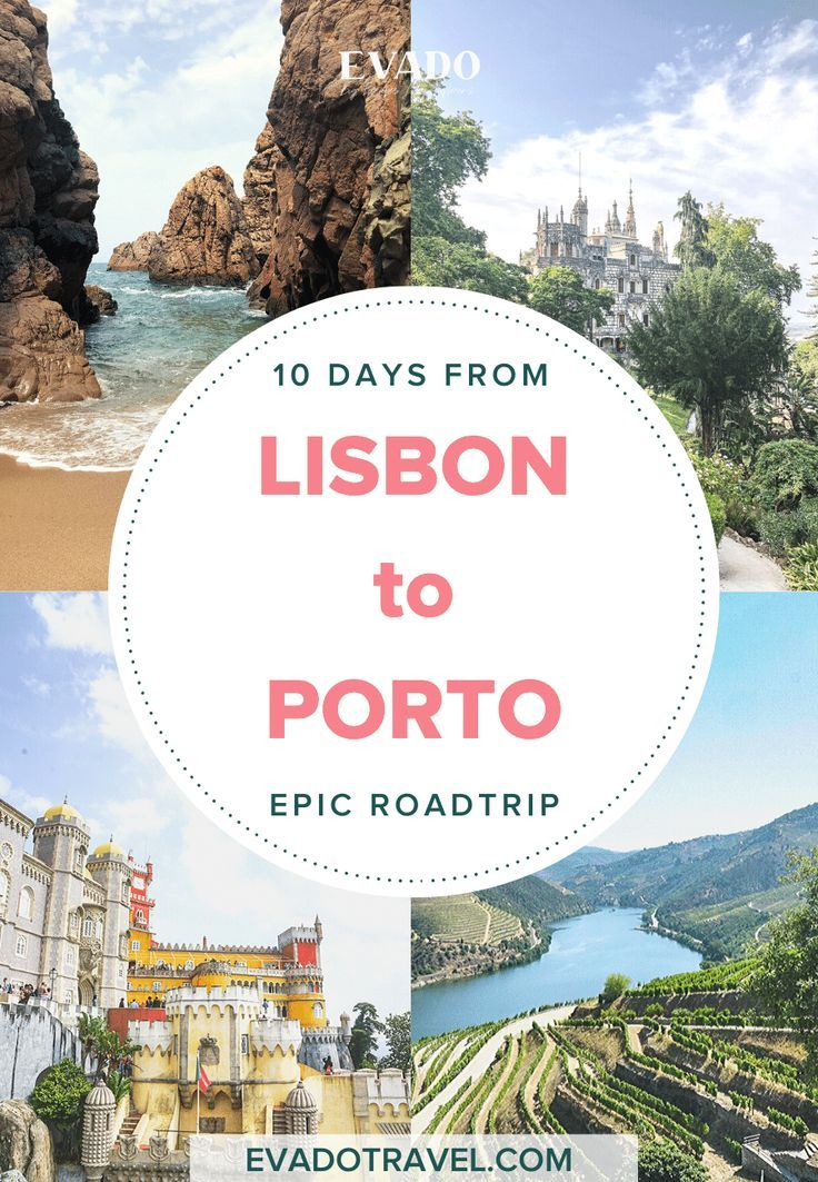 10 Days in Portugal: A Road Trip from Lisbon to Porto - Evado Travel