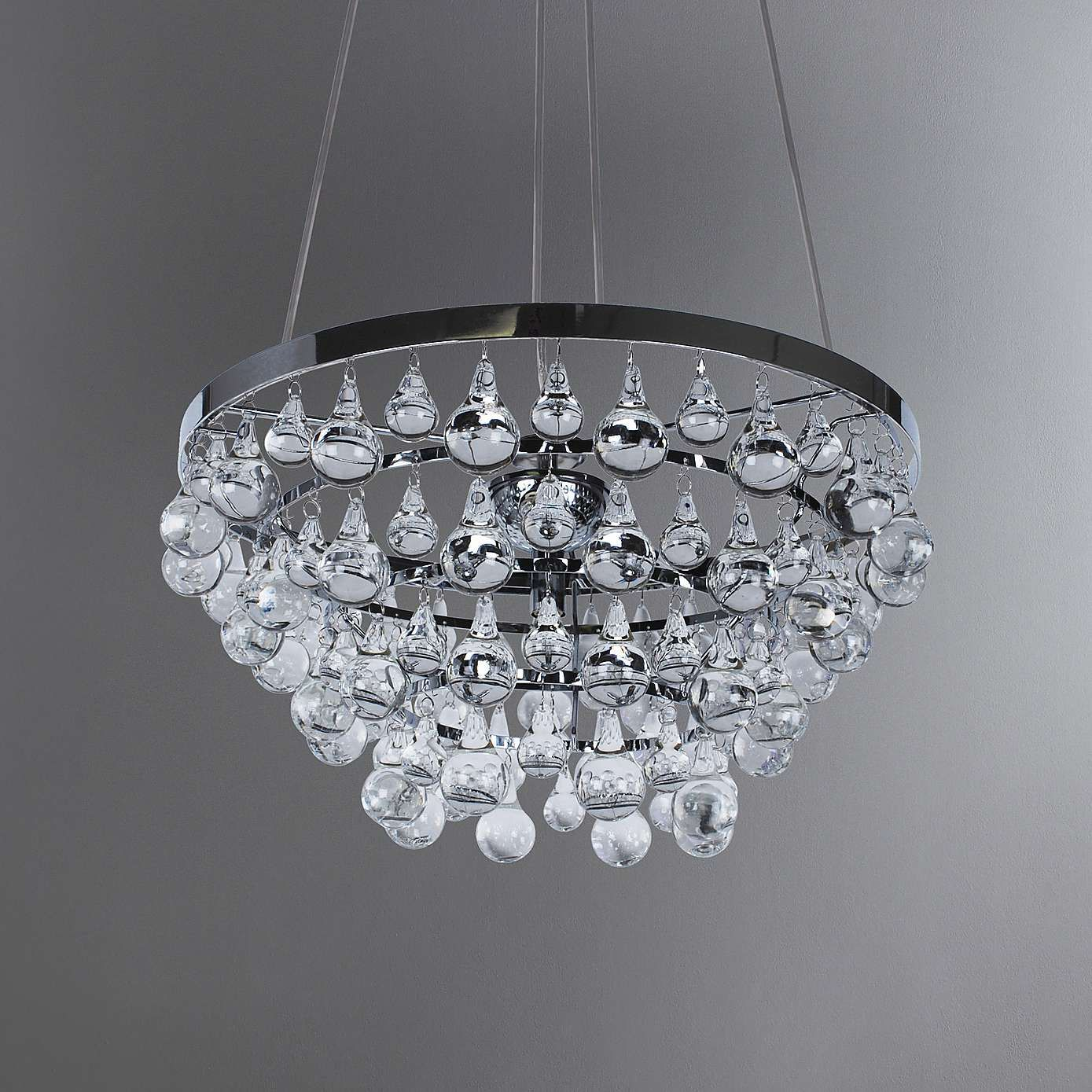brand new 5a155 96058 Hotel Luxe Luxurious Chrome Silver 4 Light Ceiling Fitting ...