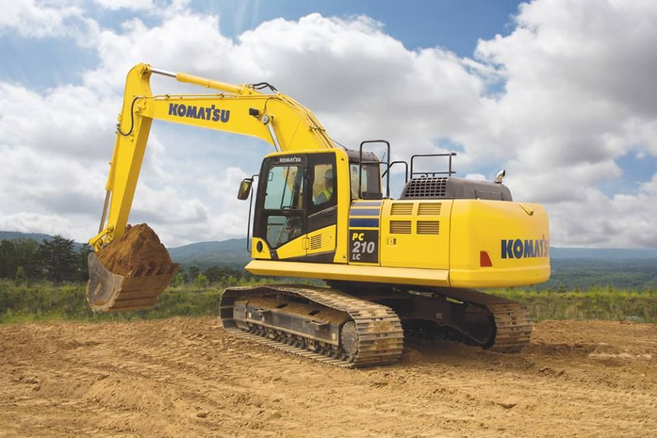 Wherever You Are We Hope You Dig Your Weekend Too Heavy Equipment Komatsu Excavator