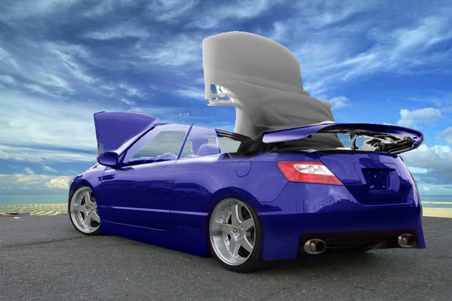 Honda Civic Coupe Convertible