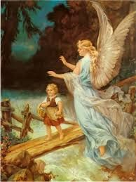Guardian Angel With Boy And Girl On Bridge Google Search