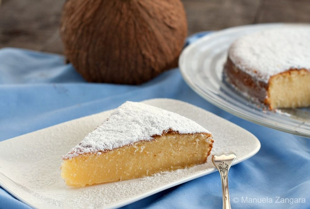 A Very Easy And Moist Cake Condensed Milk And Coconut Cake Perfect For Your Kid S Lunch Box Sweet Cooking Sweet Treats Desserts Coconut Recipes