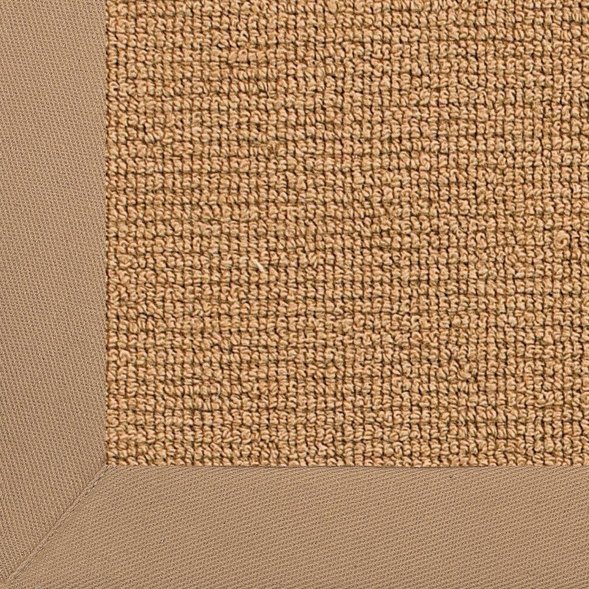 Wool Sisal w/ Cotton Twill Binding Rug cork_sisal_with_khaki_twill_binding
