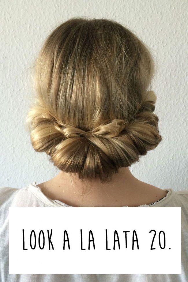 Fajne Fryzury W 5 Minut Krok Po Kroku Hairs 20s Hair