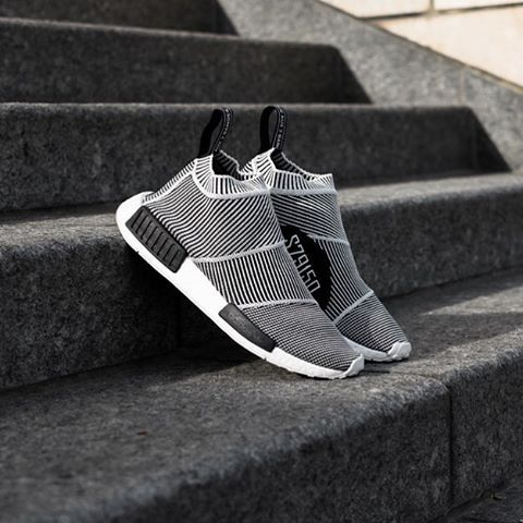 wholesale dealer 0e0d3 33f68 Adidas unveils their newest NMD creation, the City Sock. Its basically a  sock with a sole and we love it.