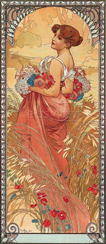 Eté 1900, Alphonse Mucha
