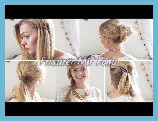Schule Frisuren 2018 Für Diejenigen Mit Langen Haaren Mit Kurzen