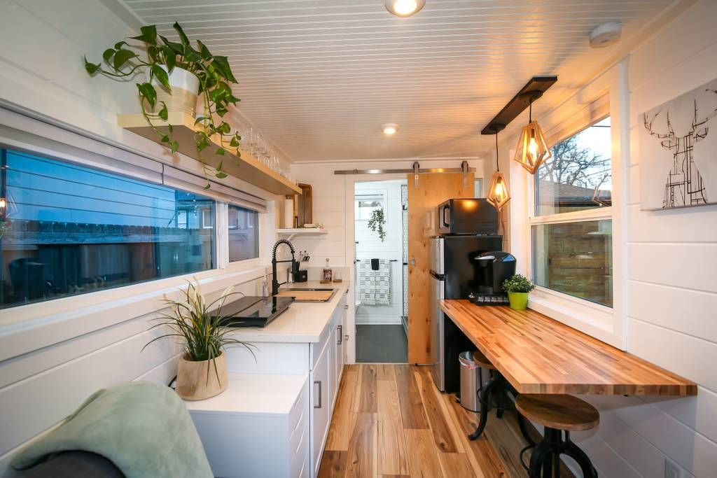 Shipping Container Home Used As A Backyard Additional
