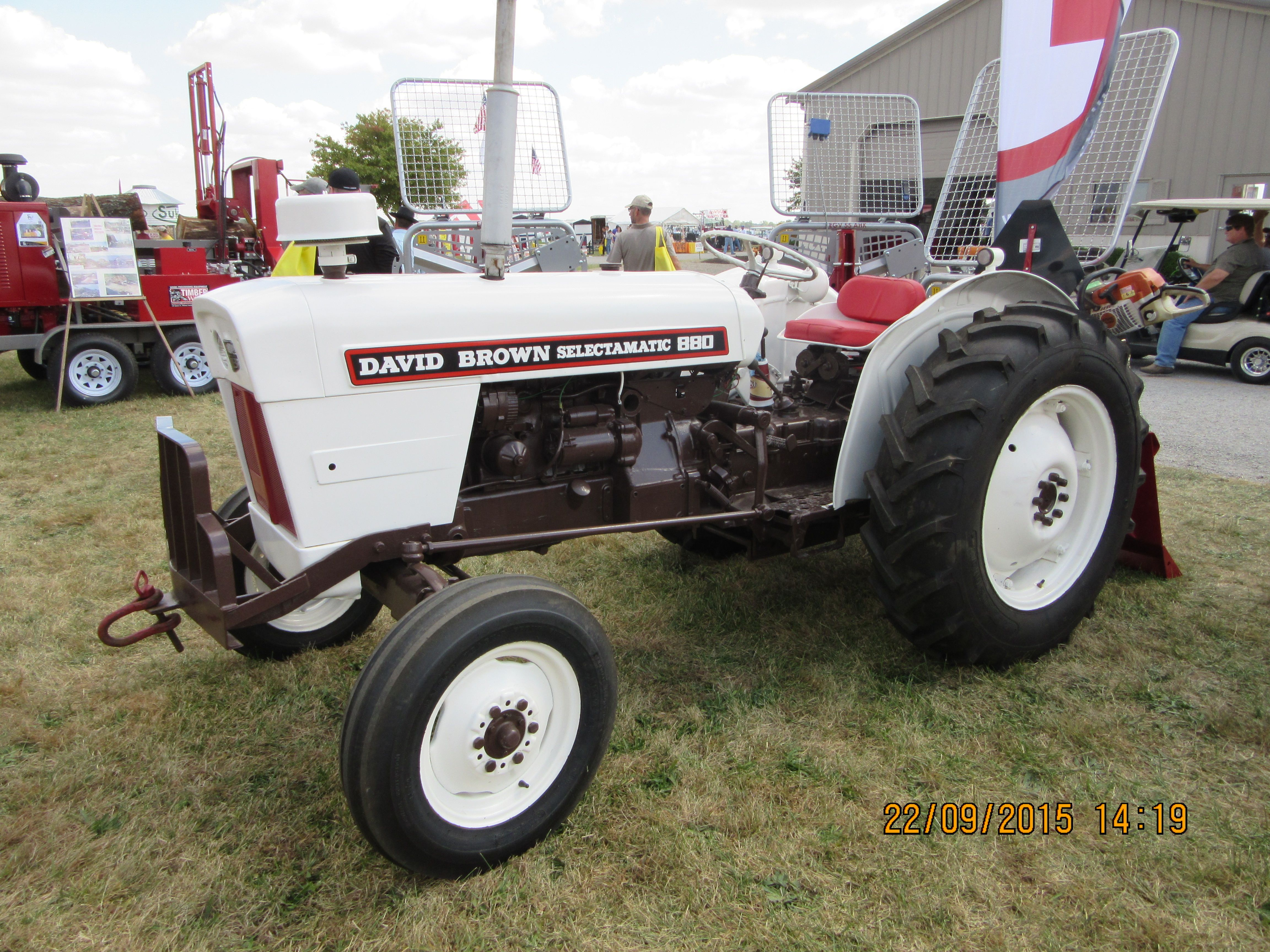880 Ford Tractors : David brown selectamatic j i case equipment
