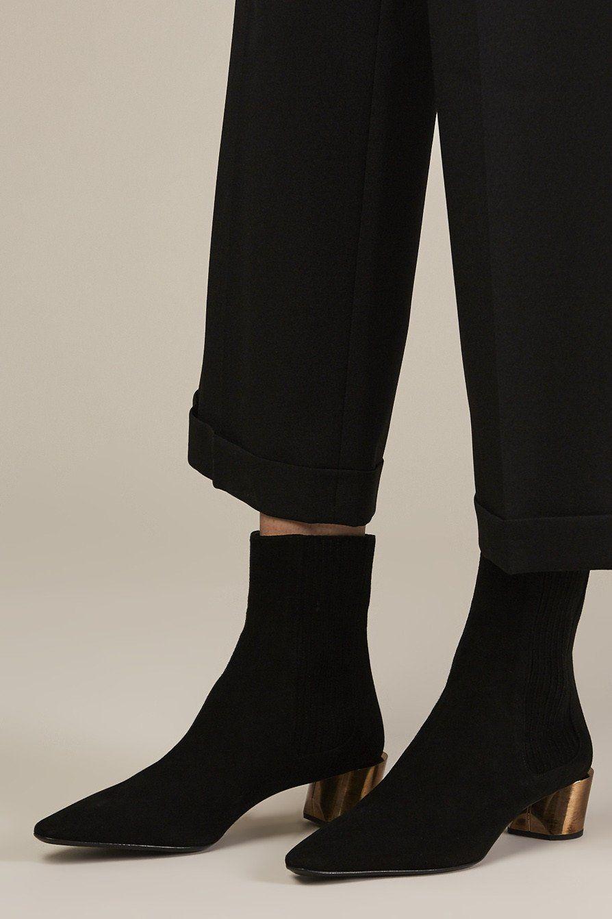 Jil Sander Suede Ankle Boots nqirvLPr4x