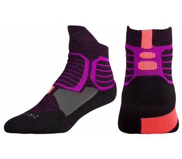 really cheap various styles another chance Nike Hyper Elite Crossover Quarter Basketball Socks sz L 8 ...