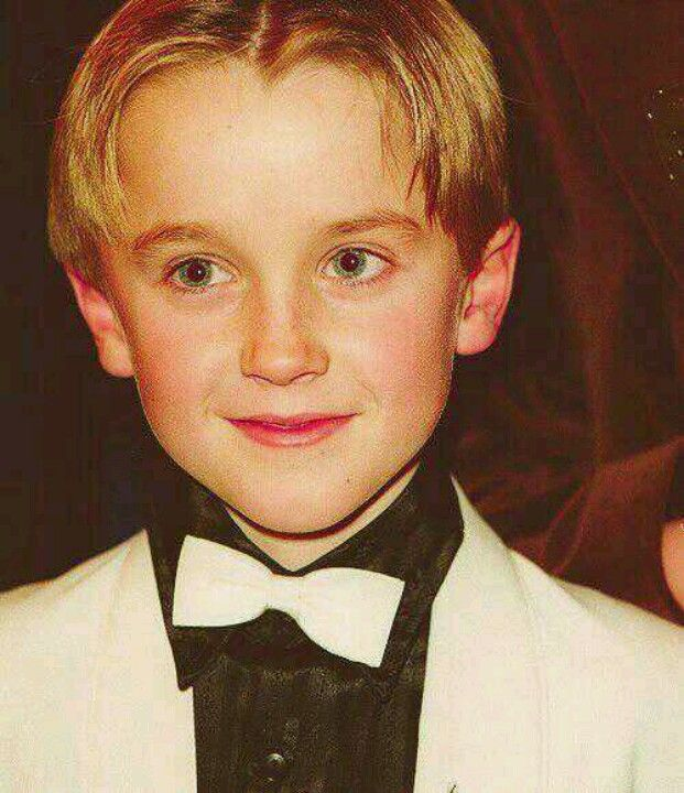 Baby Tom Felton Harry Potter Draco Malfoy Draco Harry Potter Tom Felton