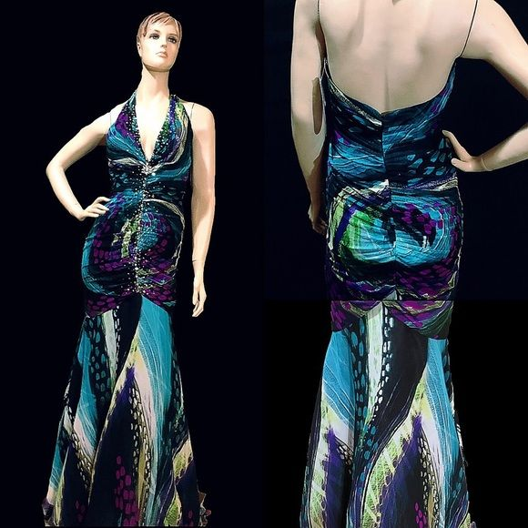 🔴CLEARANCE Formal Sequined Mermaid Gown | Mermaid evening gown ...