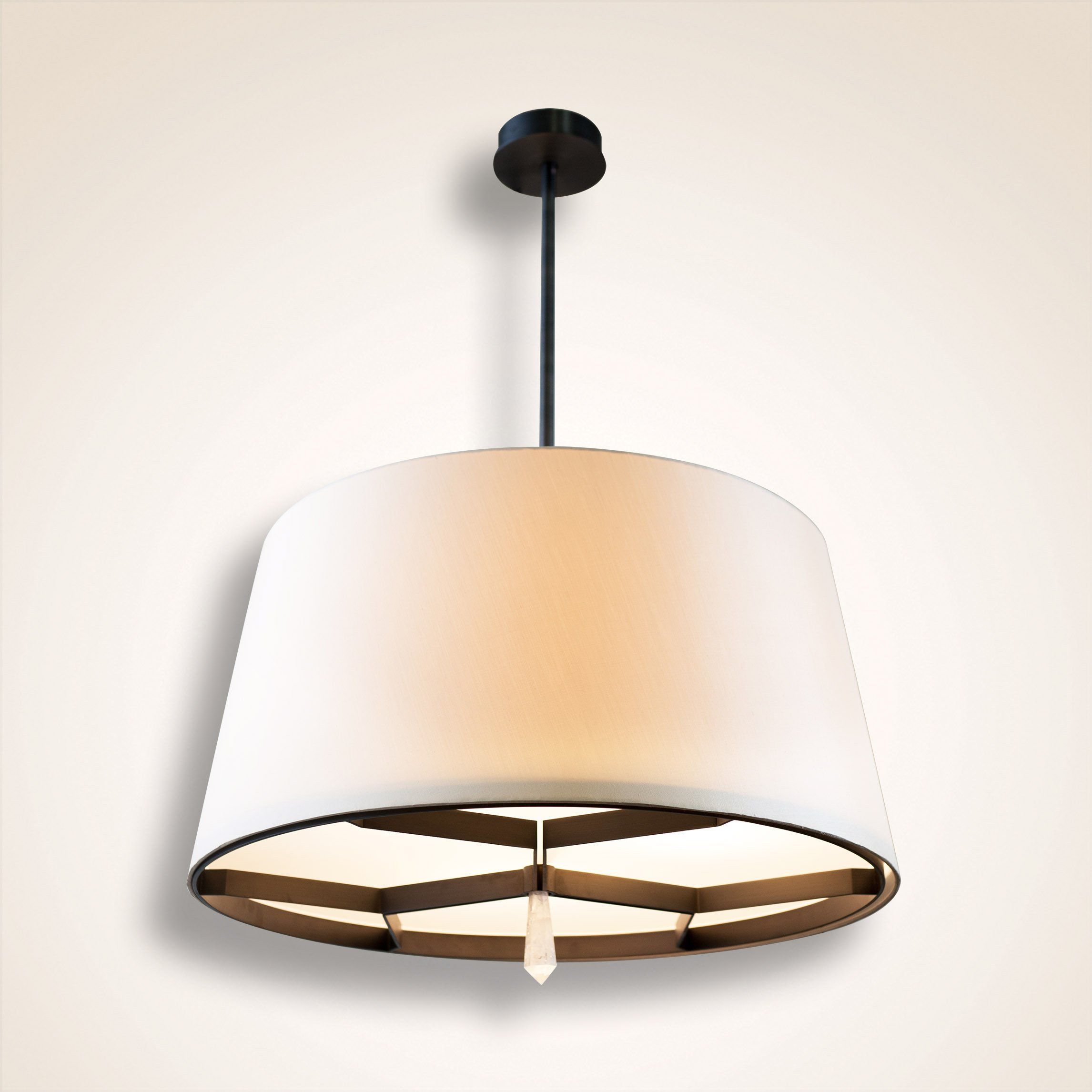 Istanbul S Fabric Shades Chandelier Lighting Chandeliers Transitional
