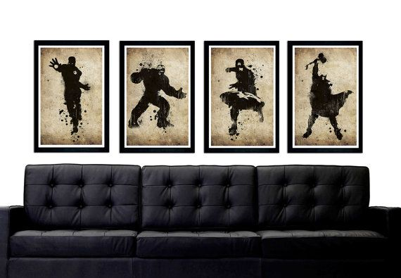 Les Vengeurs Inspiré Affiche La Valeur Style Par PrintMadness