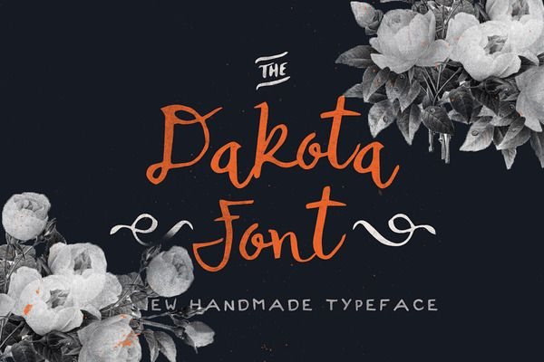 Dakota Font design and branding Pinterest Fonts and Ornament - video resume script