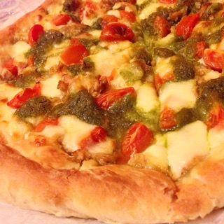 Pizza con lievito madre essiccato (lievitazione 10h) – Cucina con Ciotti