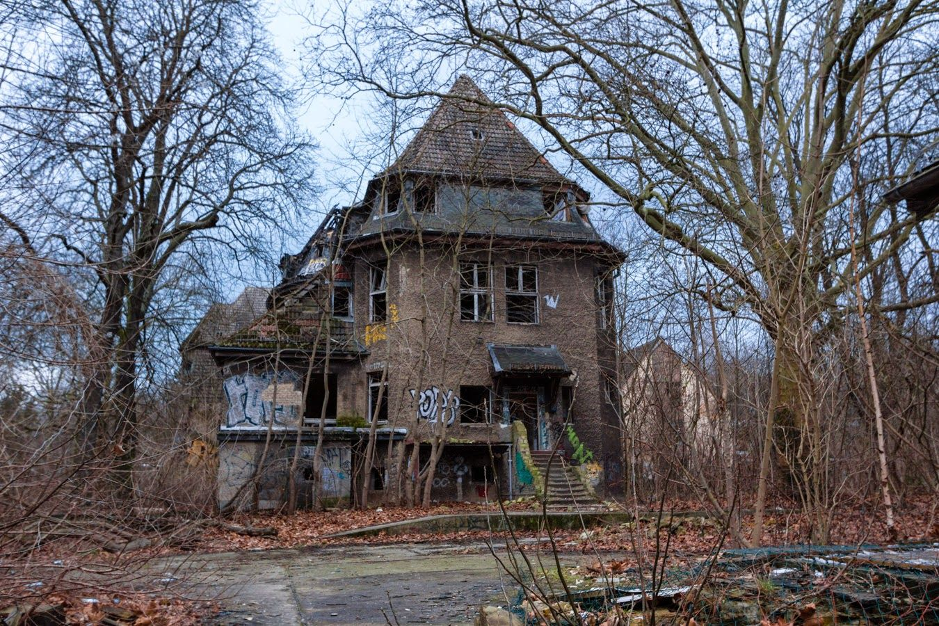 Kinderkrankenhaus Weißensee, an abandoned children's
