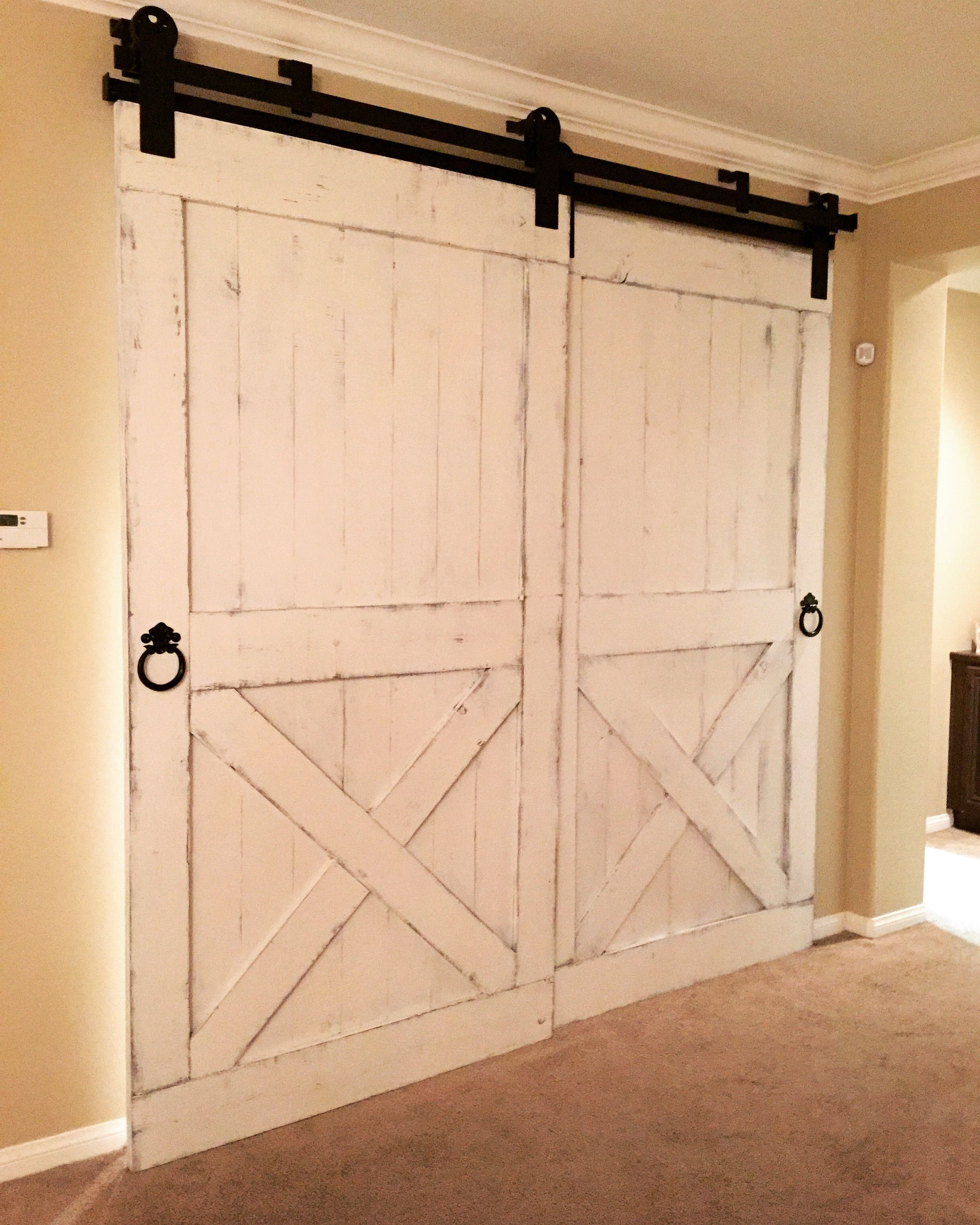 bedroom doors diy hardware white closet barn strap black bypassing sliding null door bypass projects ana wall hook rolling