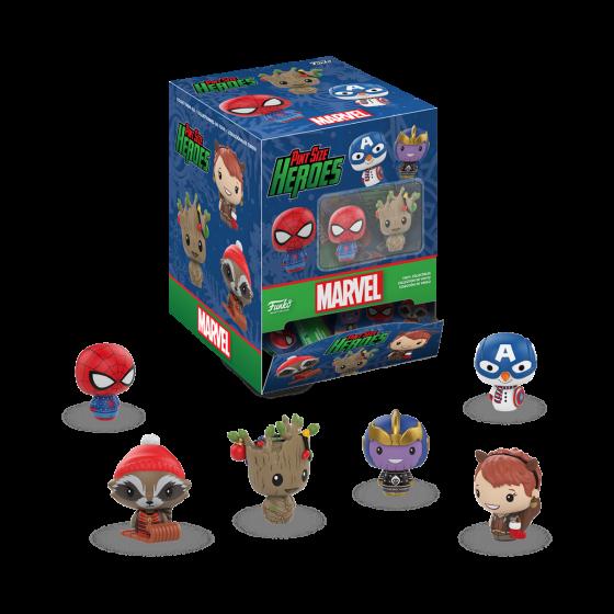 Marvel Holiday Pint Size Heroes Mystery Mini-Figure Captain America