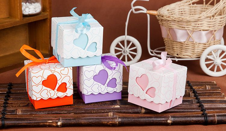 Find More Candy Boxes Information About 555cm 50pcs High End Love