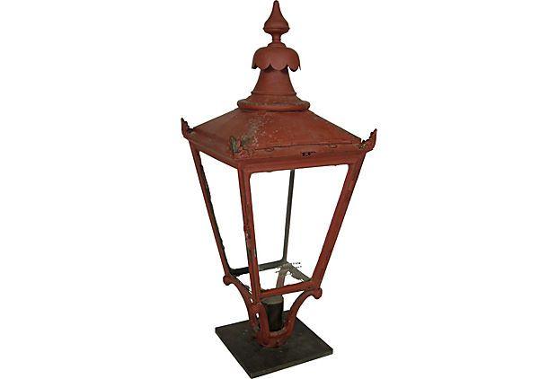 19th C London Street Lamp Late 19th Century English Street Lantern Made By The Parkinson Lantern Co London Birmingham Street Lamp Lamp Lamp Finial
