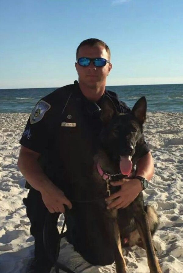 Cpl Kelly And K9 Zeus Of The Panama City Beach Police Department