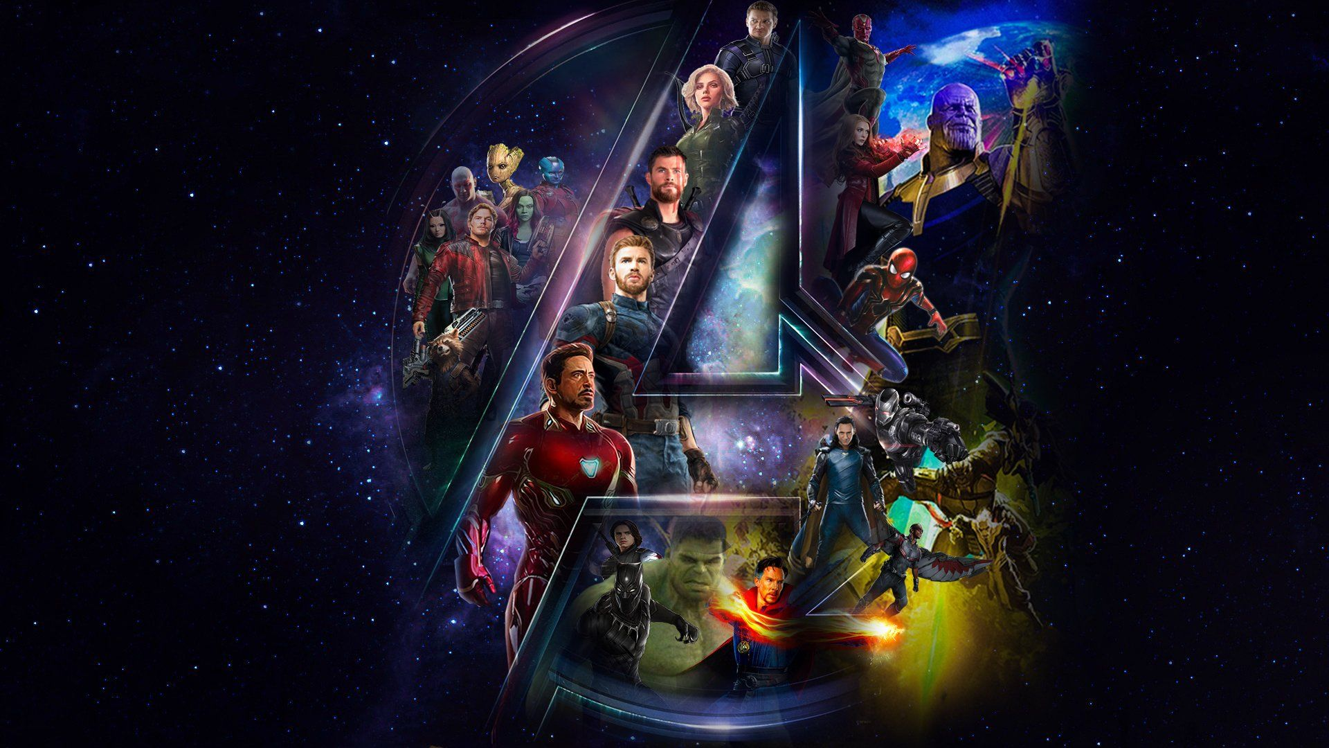 Avengers Infinity War Full Hd Wallpaper And Background Image