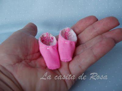 La casita de Rosa: Falda Tilda ;zapatillas Tilda